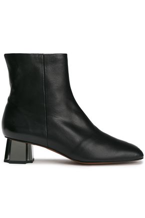ROBERT CLERGERIE Petsy leather ankle boots