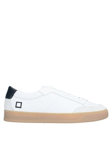 Купить Низкие кеды и кроссовки от D.A.T.E. белого цвета