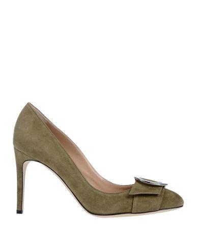 Купить Женские туфли  цвет зеленый-милитари