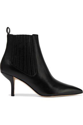 DIANE VON FURSTENBERG Mollo leather ankle boots