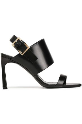 ROGER VIVIER Studded leather slingback sandals