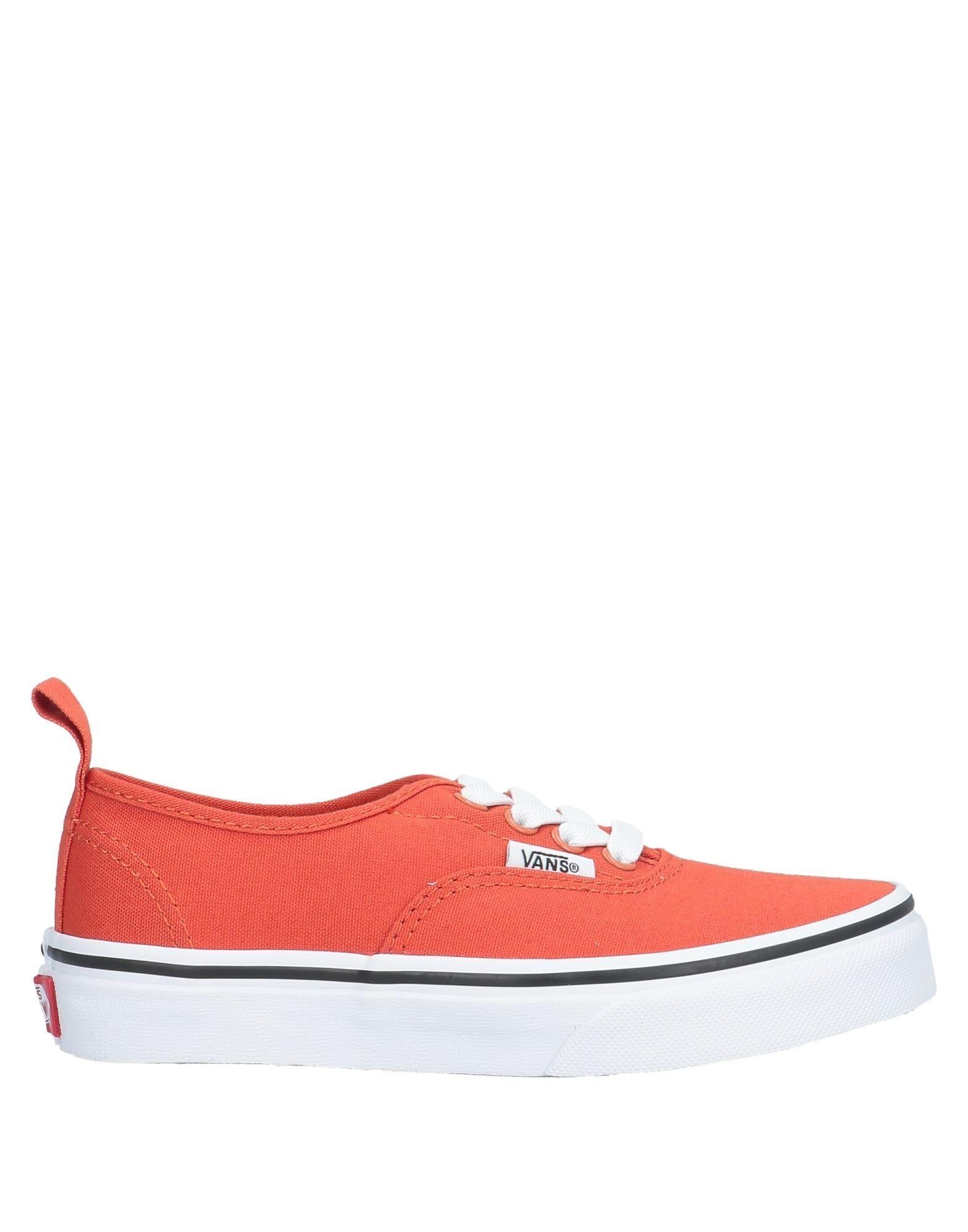 YOOX.COM(ユークス)《セール開催中》VANS Unisex スニーカー&テニスシューズ(ローカット) オレンジ 2.5Y 紡績繊維