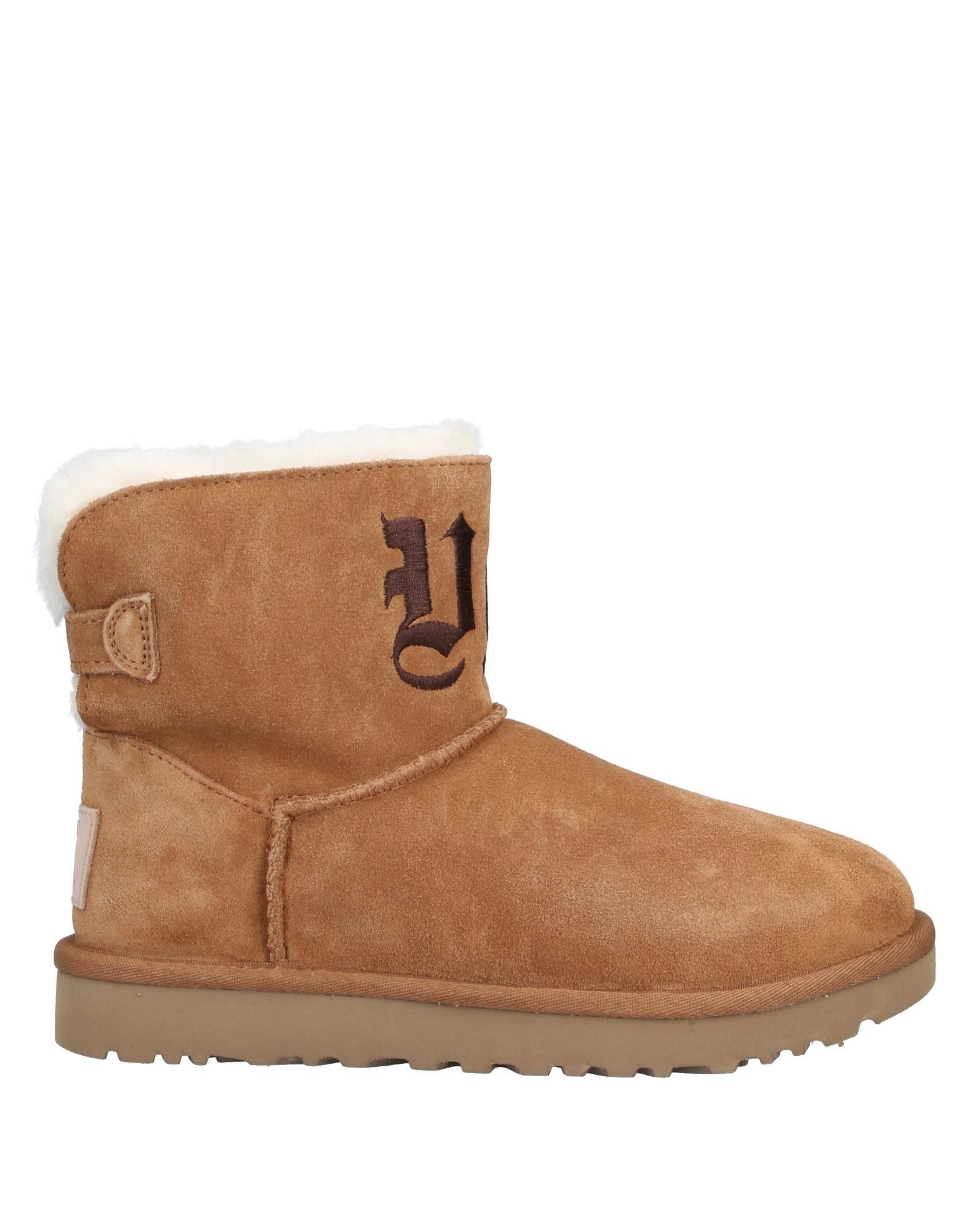 UGG + JEREMY SCOTT Полусапоги и высокие ботинки