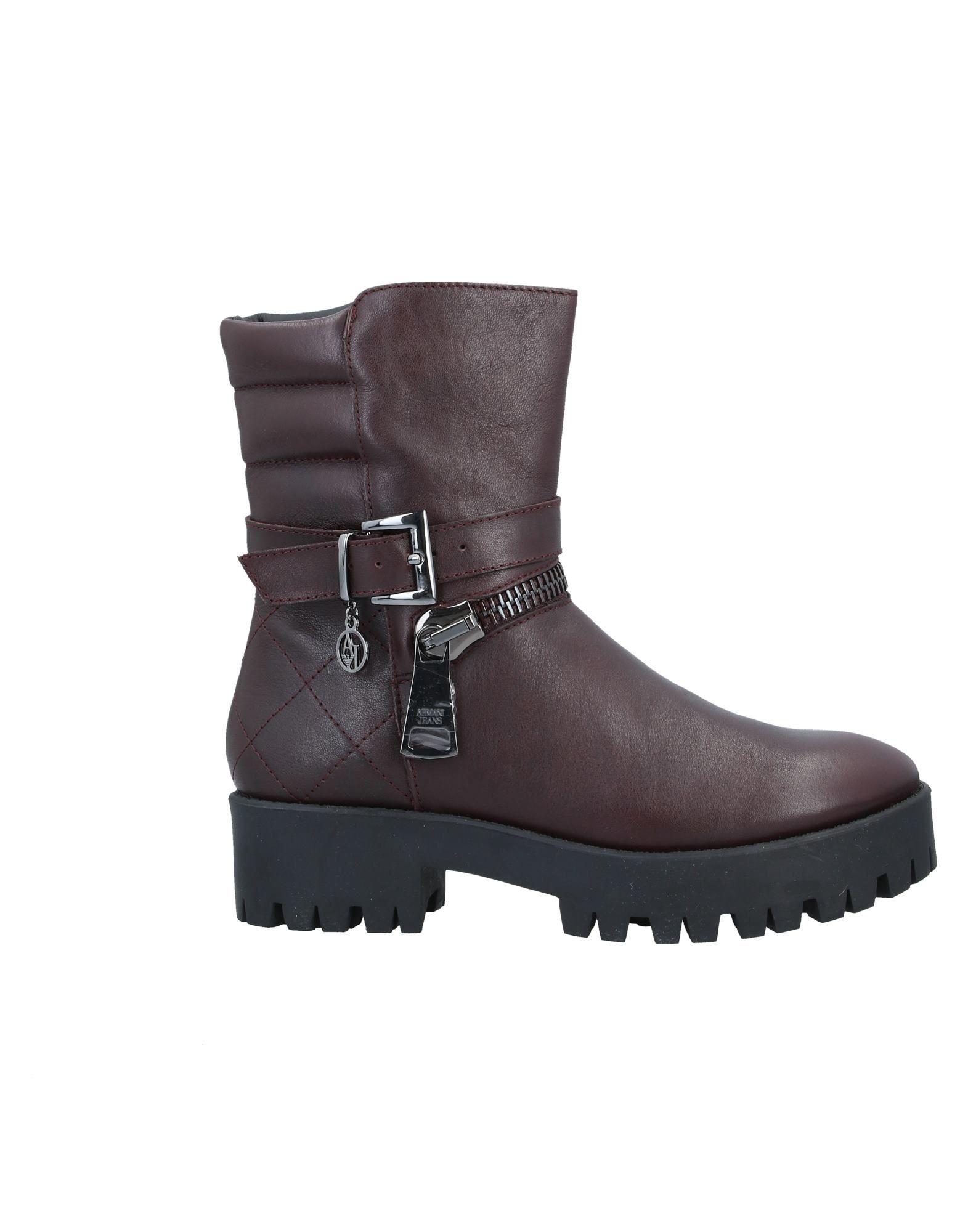 купить ARMANI JEANS Полусапоги и высокие ботинки по цене 16000 рублей