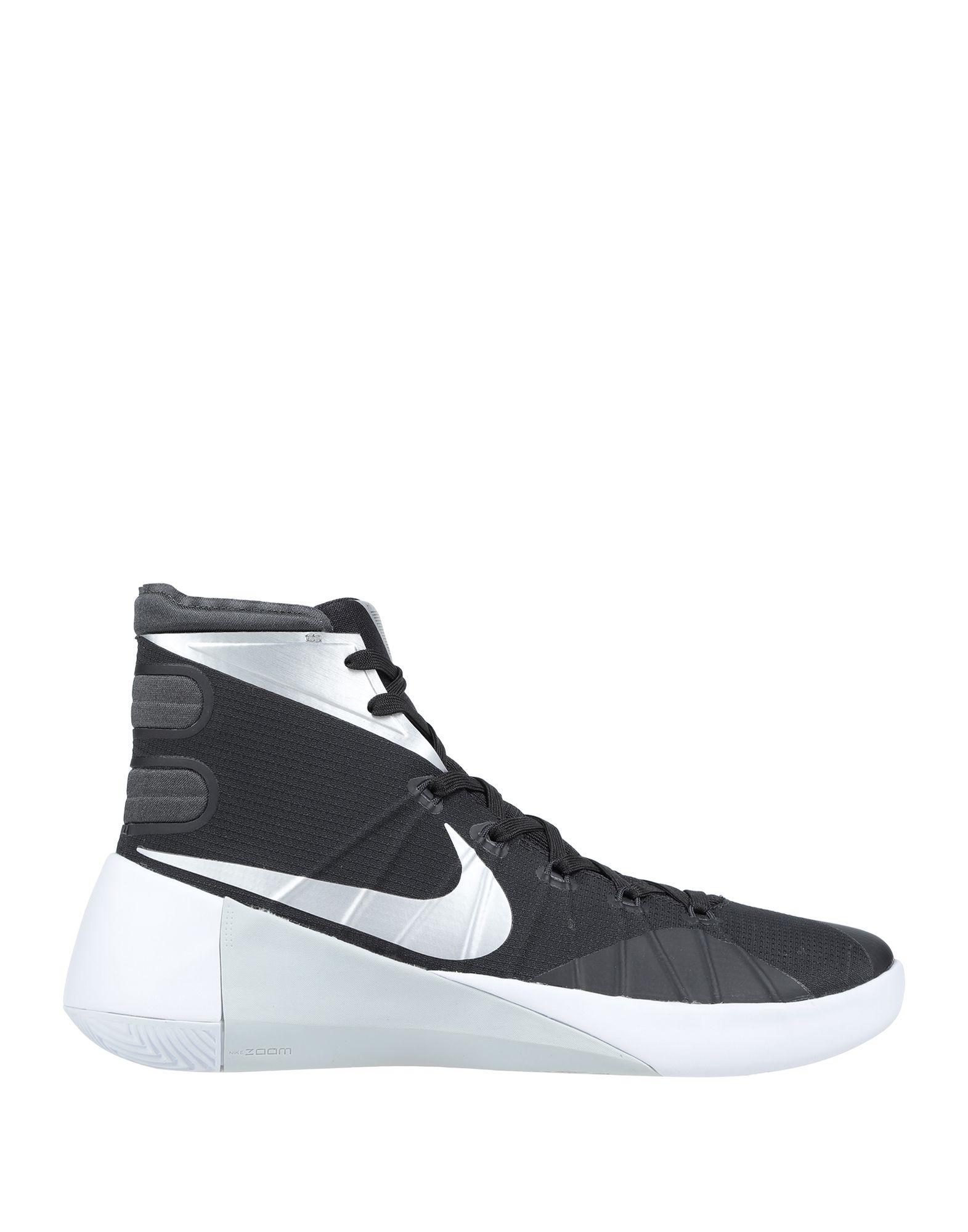 《期間限定セール開催中!》NIKE メンズ スニーカー&テニスシューズ(ハイカット) ブラック 11.5 紡績繊維