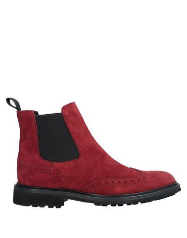 Купить Полусапоги и высокие ботинки от LO.WHITE ржаво-коричневого цвета