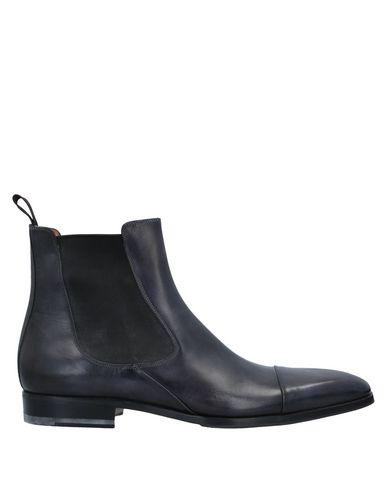 Купить Полусапоги и высокие ботинки темно-синего цвета