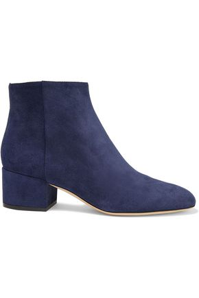 SERGIO ROSSI Virginia suede ankle boots