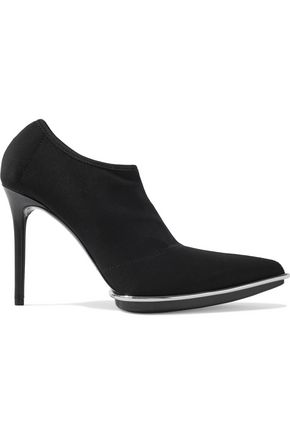 ALEXANDER WANG Cara stretch-mesh ankle boots