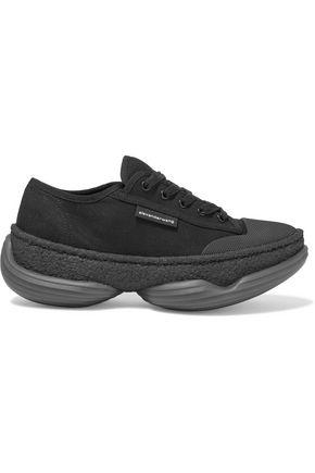 ALEXANDER WANG A1 canvas platform sneakers