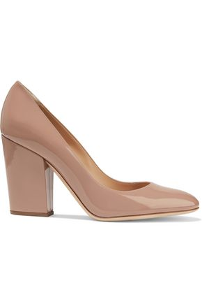 SERGIO ROSSI Virginia patent-leather pumps