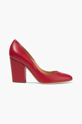 SERGIO ROSSI Virginia leather pumps