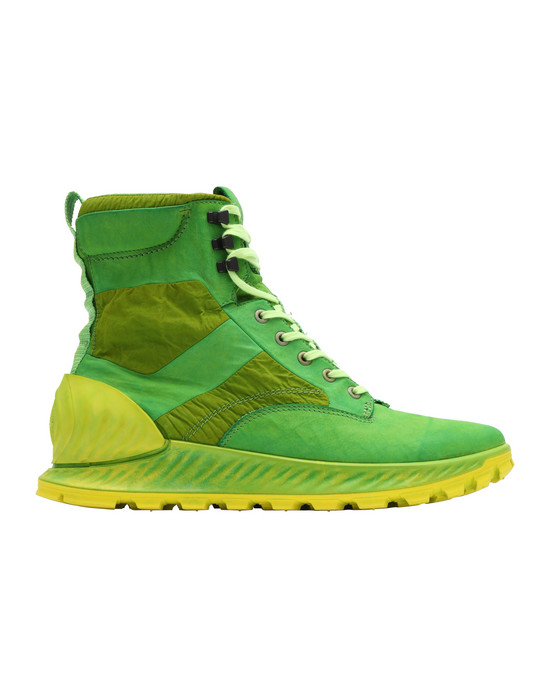 STONE ISLAND Обувь S0695 GARMENT DYED LEATHER EXOSTRIKE BOOT CON DYNEEMA®