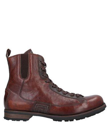 Купить Полусапоги и высокие ботинки от LO.WHITE темно-коричневого цвета
