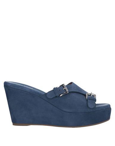Купить Женские сандали  грифельно-синего цвета