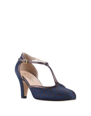 Фото 2 - Женские туфли LENORA грифельно-синего цвета