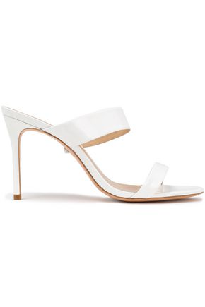SCHUTZ Patent-leather mules