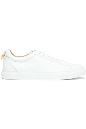 BUSCEMI Embellished leather sneakers