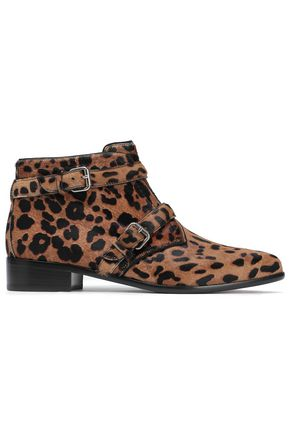TABITHA SIMMONS Windle leopard-print calf hair ankle boots