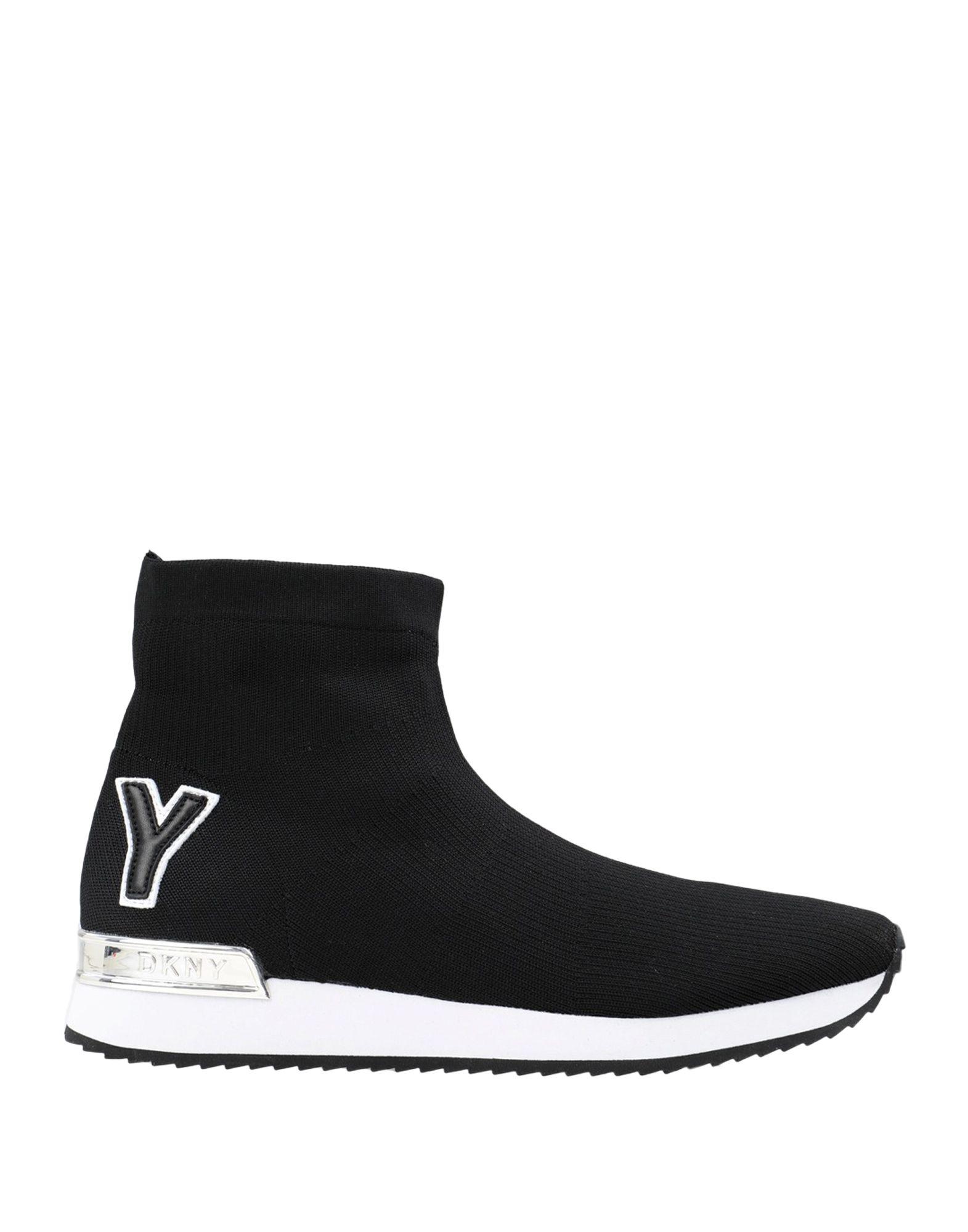 цена DKNY Высокие кеды и кроссовки онлайн в 2017 году