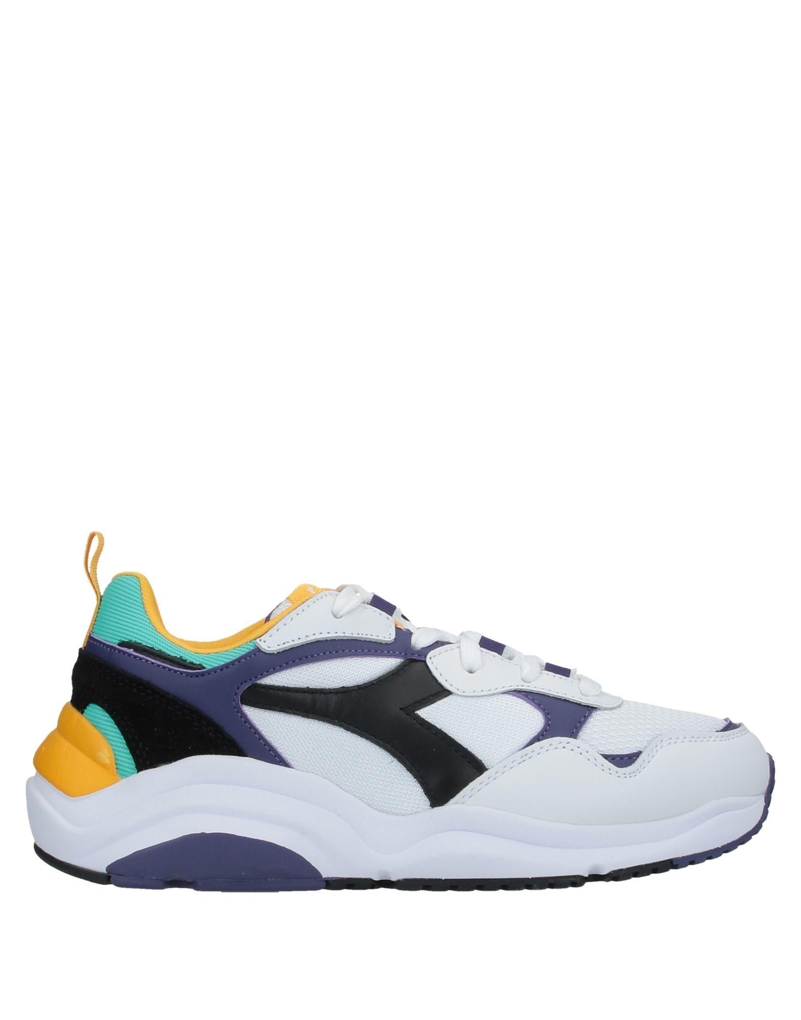 《セール開催中》DIADORA メンズ スニーカー&テニスシューズ(ローカット) ホワイト 4.5 革 / 紡績繊維