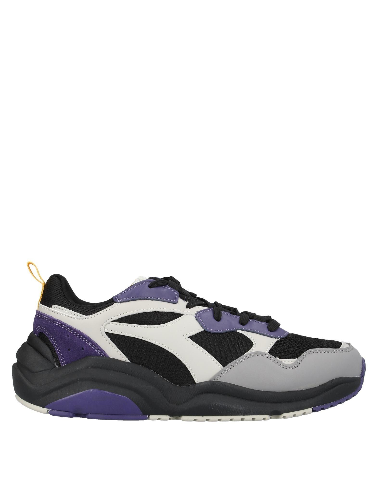 《セール開催中》DIADORA メンズ スニーカー&テニスシューズ(ローカット) ブラック 6.5 革 / 紡績繊維