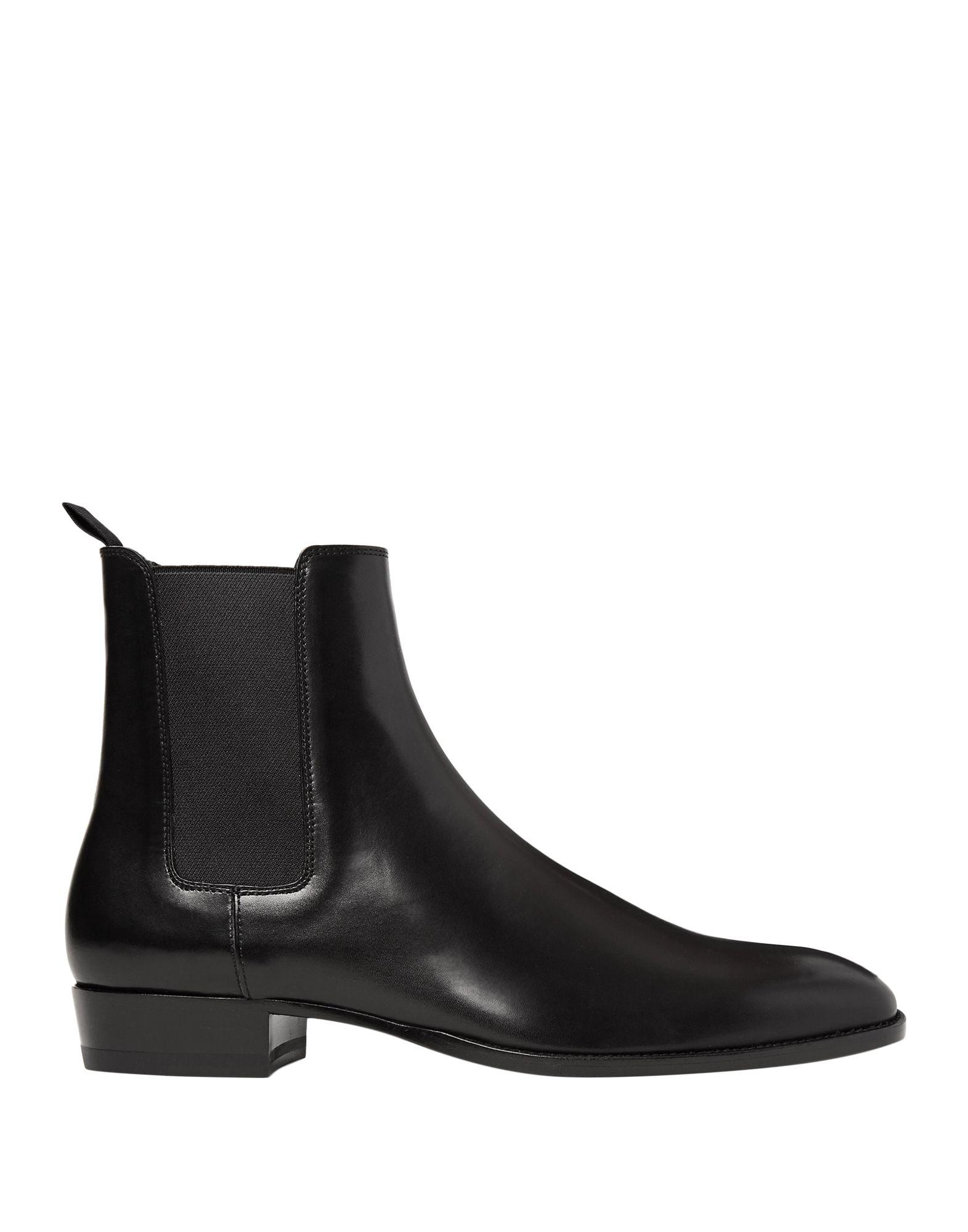 SAINT LAURENT Полусапоги и высокие ботинки
