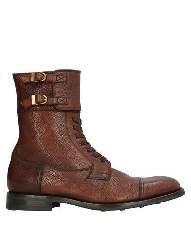 Купить Полусапоги и высокие ботинки от LO.WHITE цвет какао