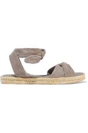 ZIMMERMANN Twisted suede espadrille sandals