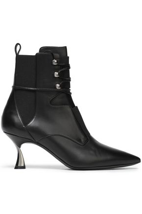 CASADEI Leather ankle boots