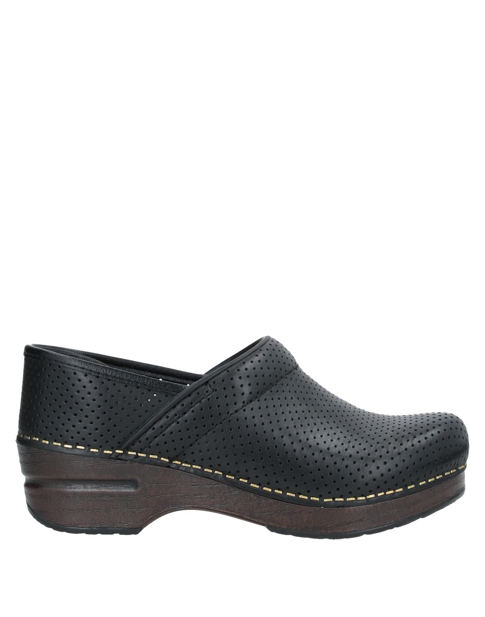 DANSKO Loafers. openwork, no appliqués, solid color, round toeline, square heel, leather lining, rubber cleated sole, contains non-textile parts of animal origin. Soft Leather