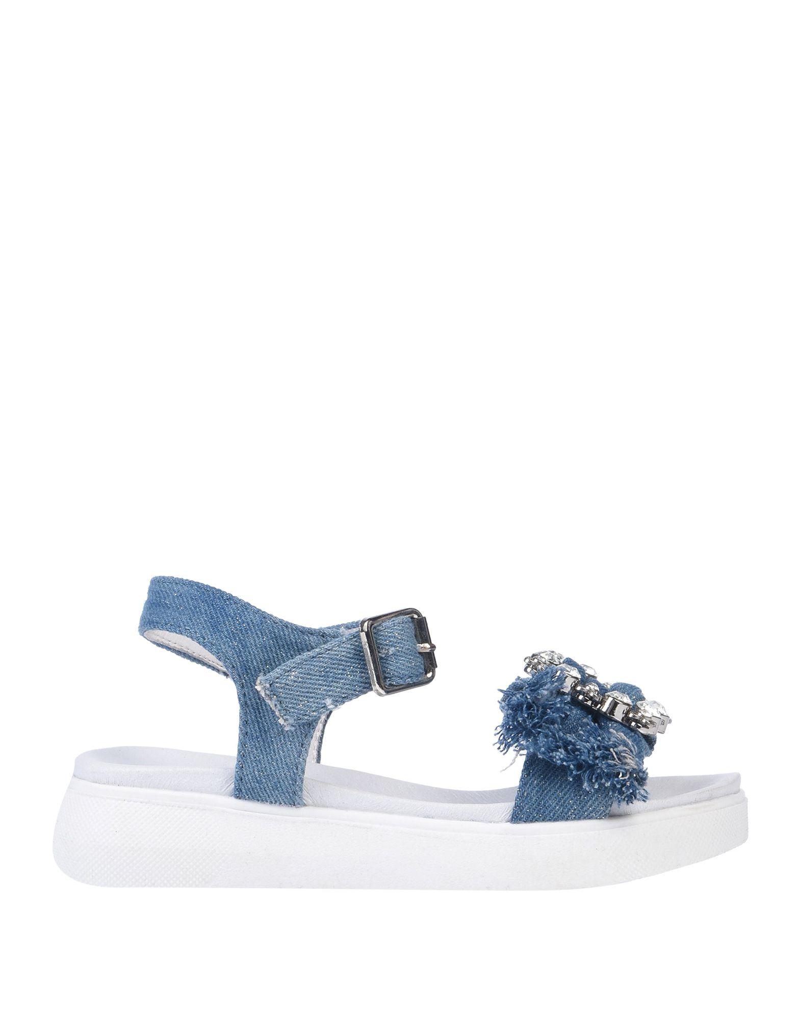 《セール開催中》MISS PEPA by OCA-LOCA ガールズ 3-8 歳 サンダル ブルー 28 紡績繊維