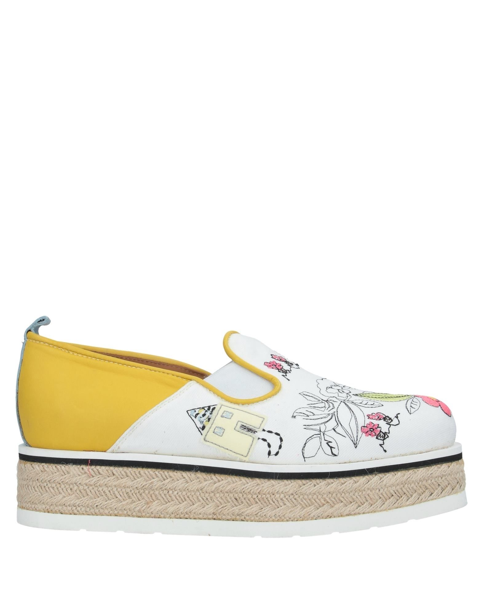 DONDUP Espadrilles. plain weave, leather, embroidered detailing, multicolor pattern, round toeline, wedge heel, rope wedge, leather lining, rubber sole, contains non-textile parts of animal origin, large sized. Soft Leather