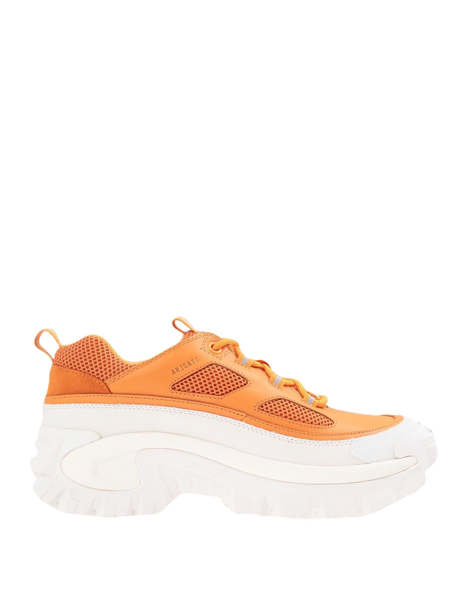 《セール開催中》AXEL ARIGATO メンズ スニーカー&テニスシューズ(ローカット) オレンジ 40 革 / 紡績繊維 EXCELSIOR