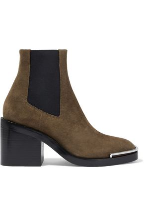 ALEXANDER WANG Hailey suede ankle boots