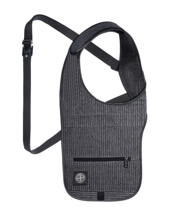 STONE ISLAND 90866 REFLECTIVE WEAVE RIPSTOP BUM BAG Man