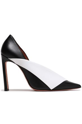 ALTUZARRA Two-tone leather pumps