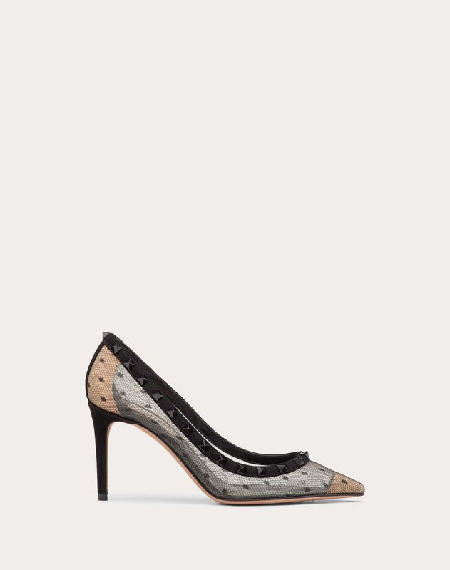 Rockstud Lace Pump 85 mm