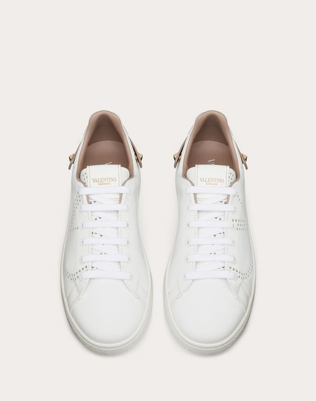 Sneakers BACKNET en veau