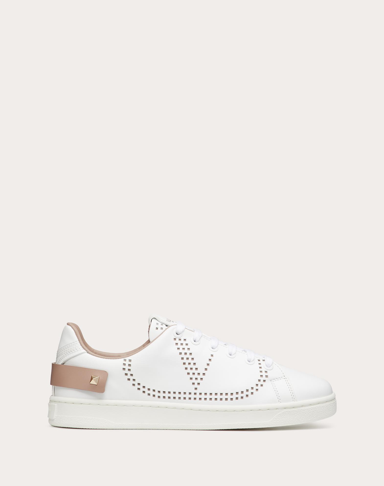 BACKNET Sneaker in Calfskin Leather