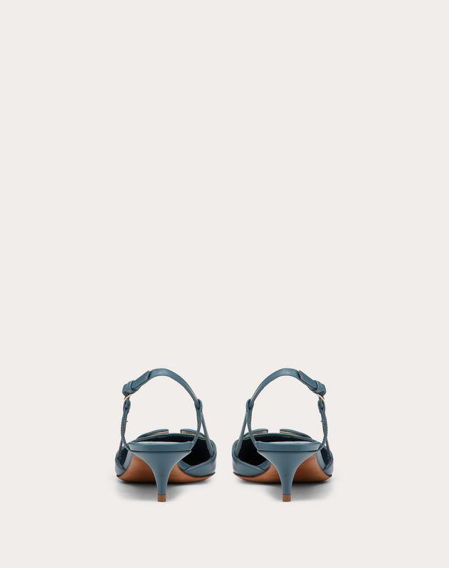 Zapatos de salón destalonados VLOGO de piel de becerro con tacón de 40 mm