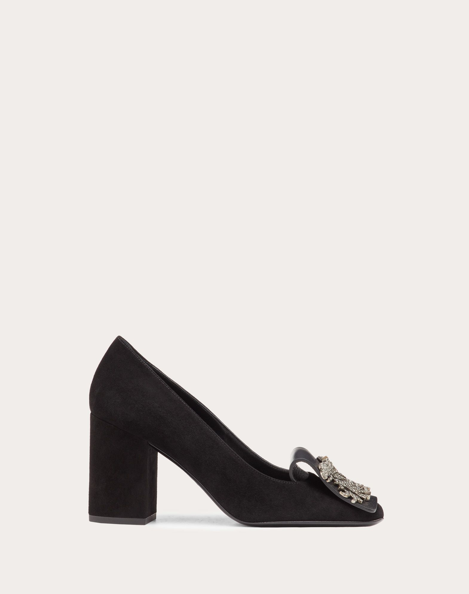 Griffin Suede Pump 85 mm