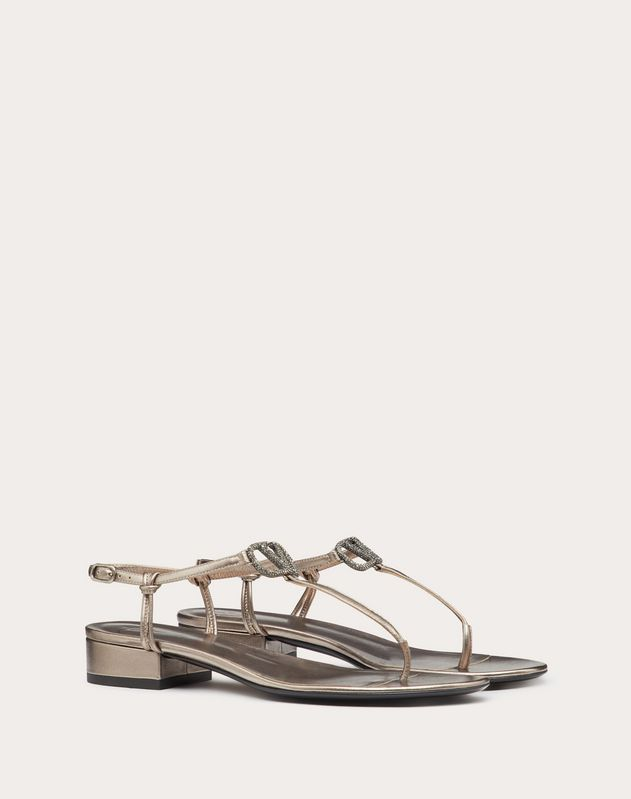 VLOGO Laminated Nappa Sandal 20 mm