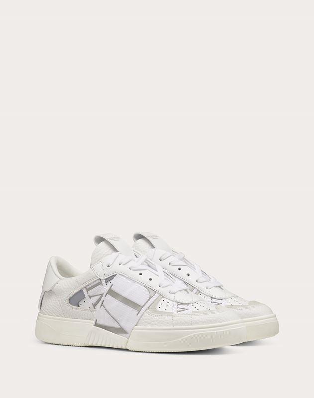 Sneakers VL7N en veau et rubans