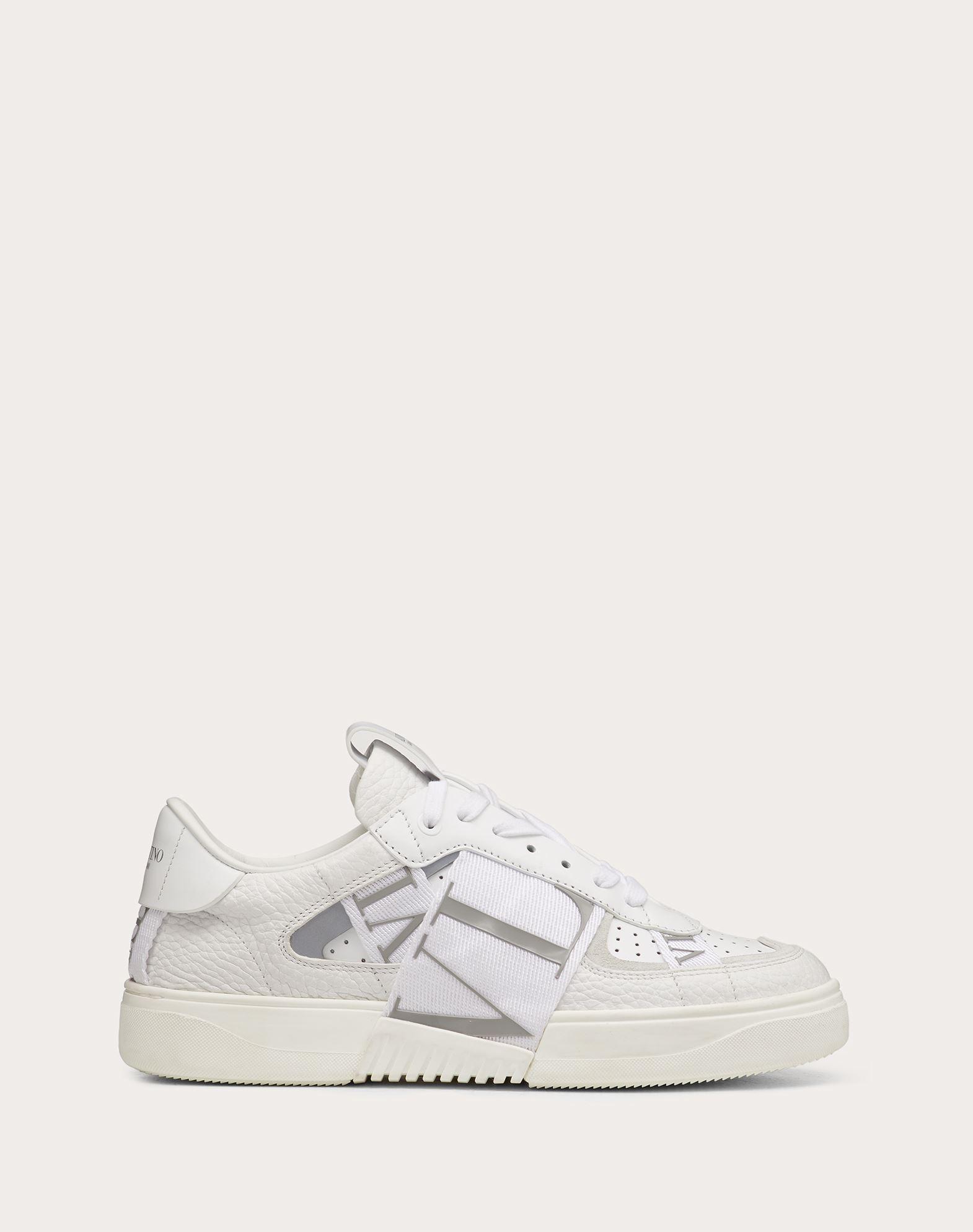 VL7N Sneaker in Banded Calfskin Leather