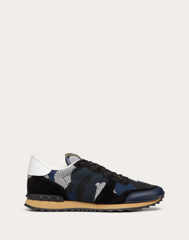 Sneaker Rockrunner Camouflage in tessuto-rete