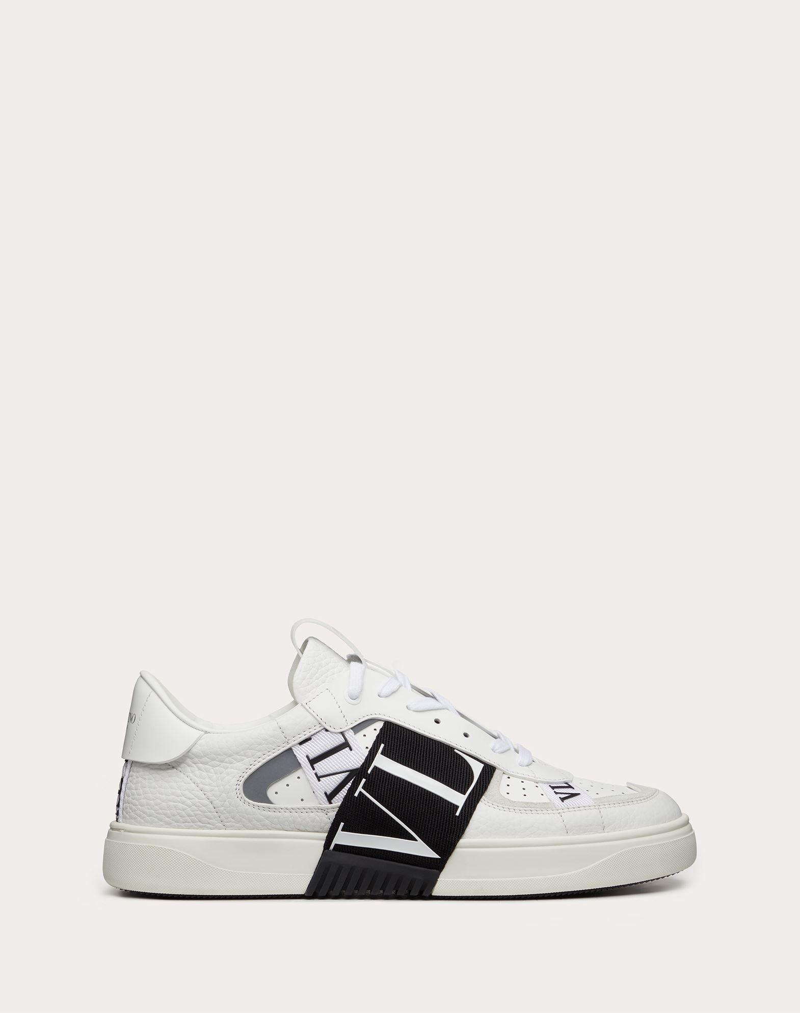 Sneaker VL7N in Vitello e Nastri