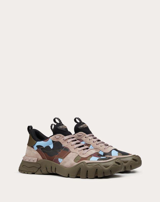 Sneakers Rockrunner Plus de camuflaje