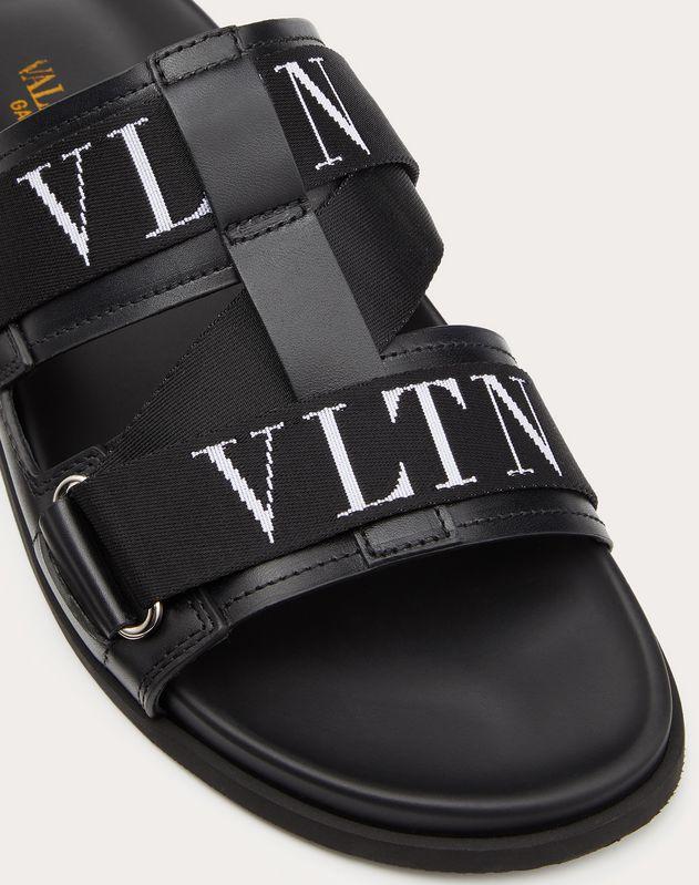 Sandalen VLTN aus Kalbsleder und Gummi