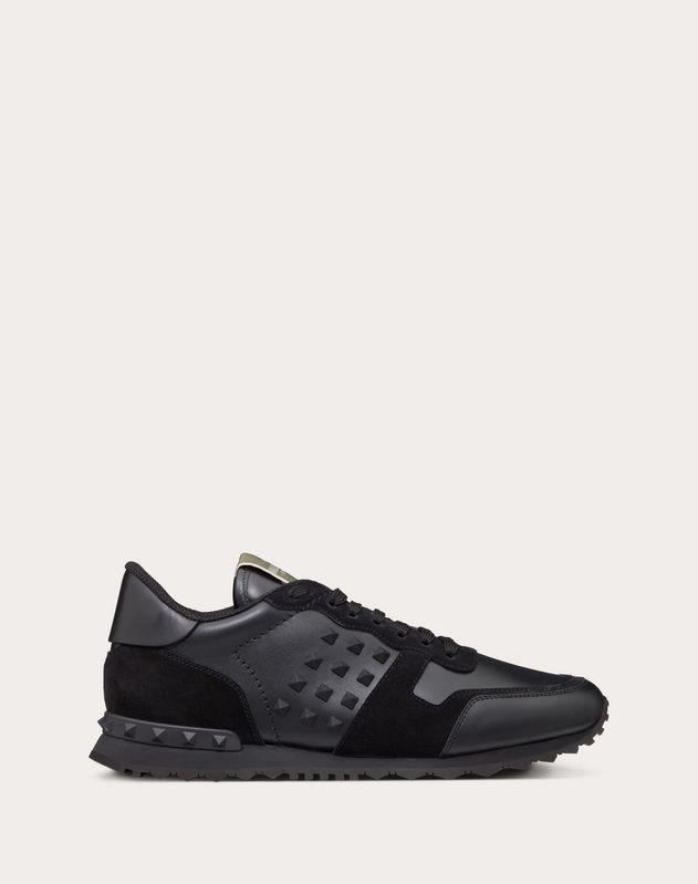 Calfskin Rockstud Sneaker